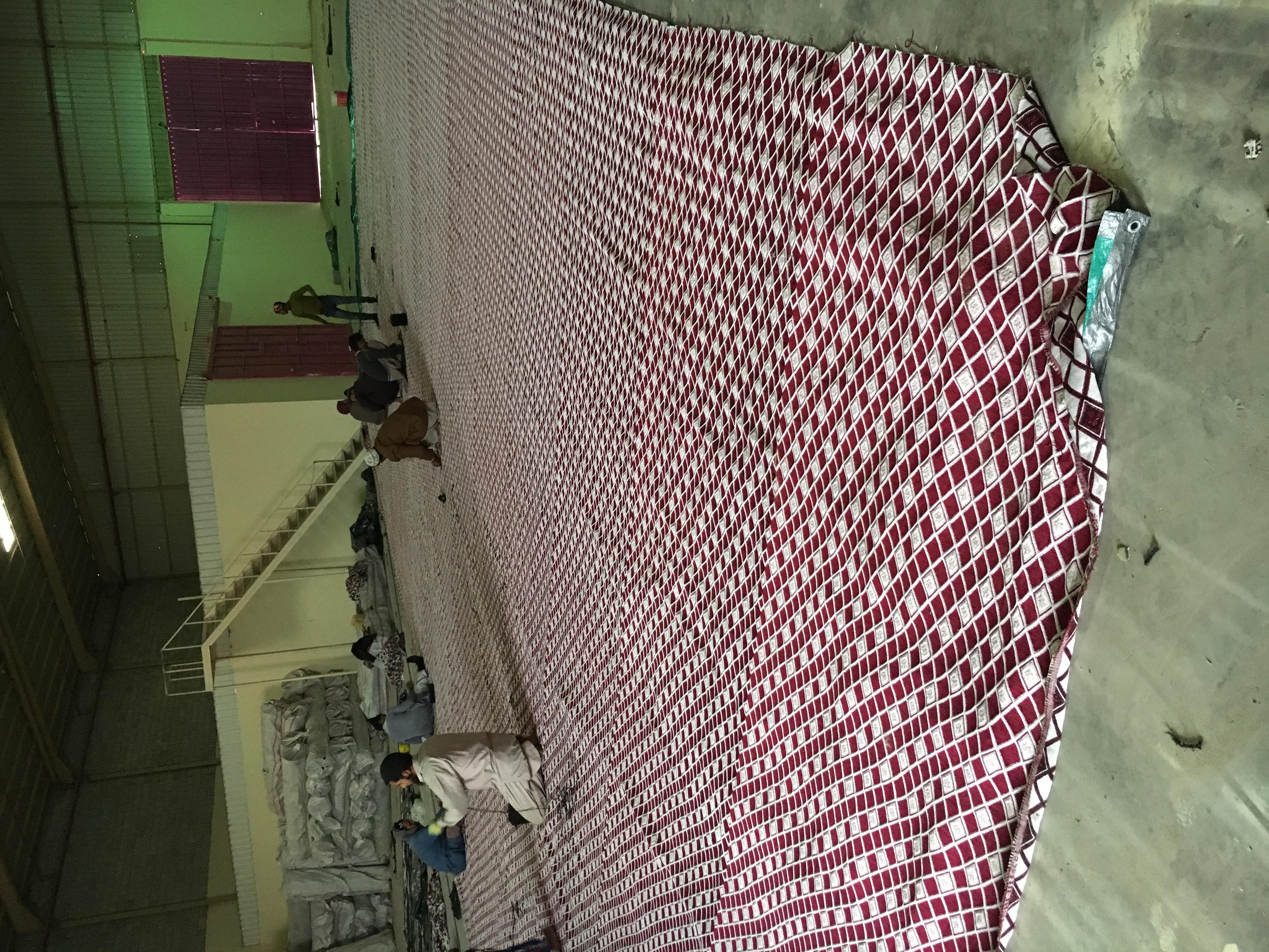 تصنيع الخيام