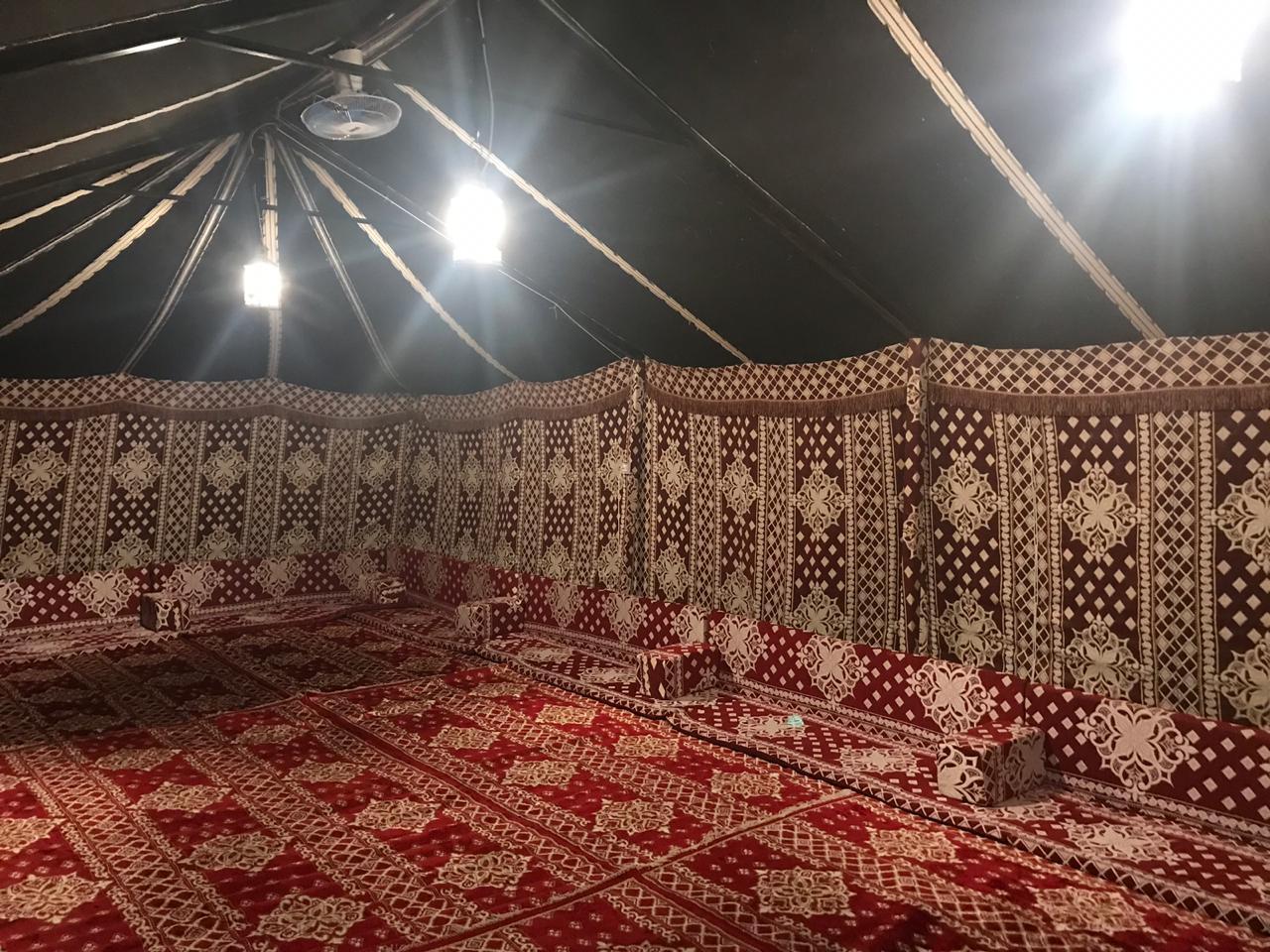 خيمة شعر جملون 6*12.