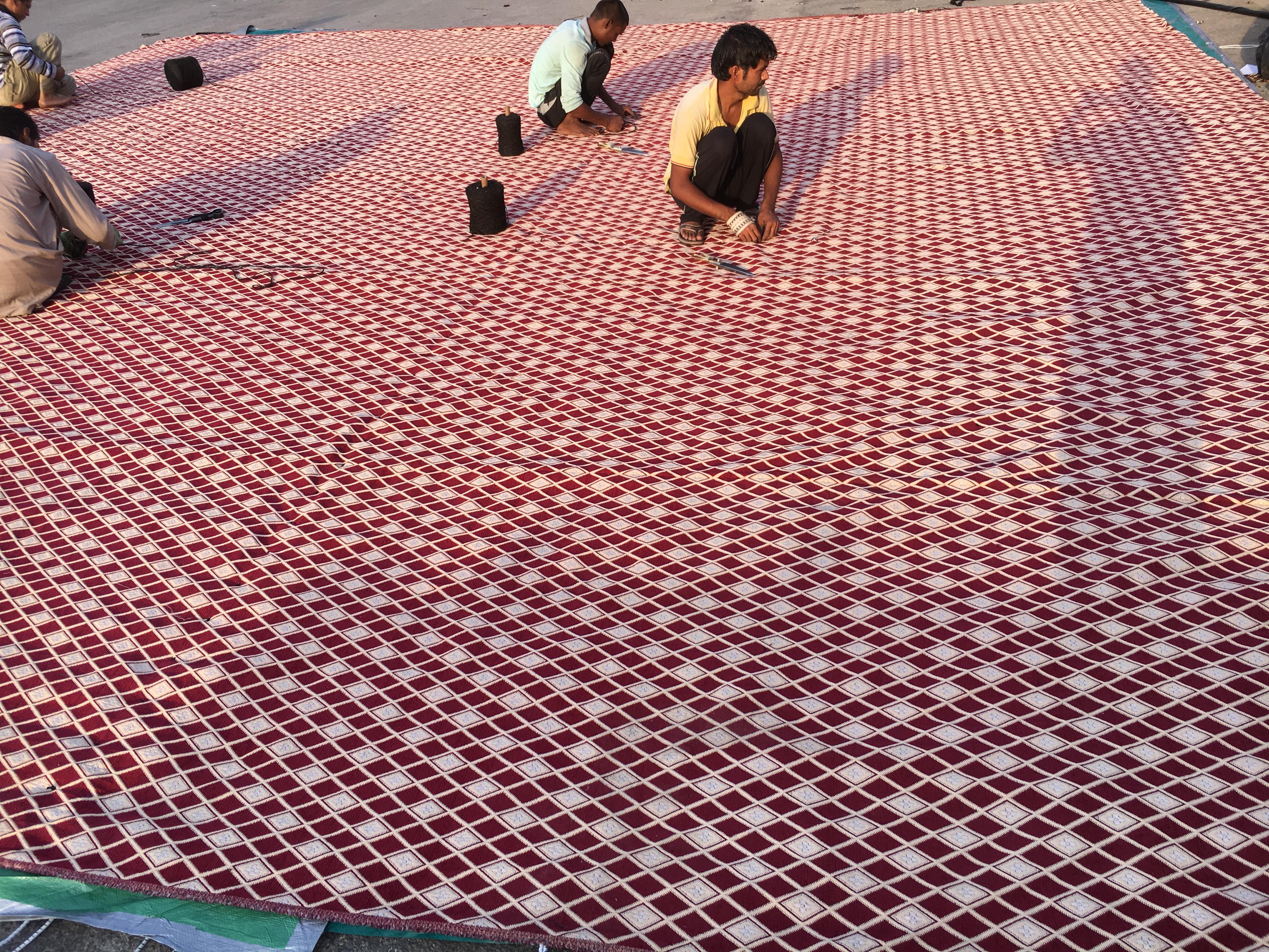 قماش لسقف الخيم